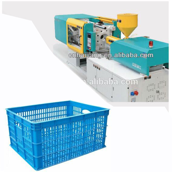 Plastic bucket making machine
